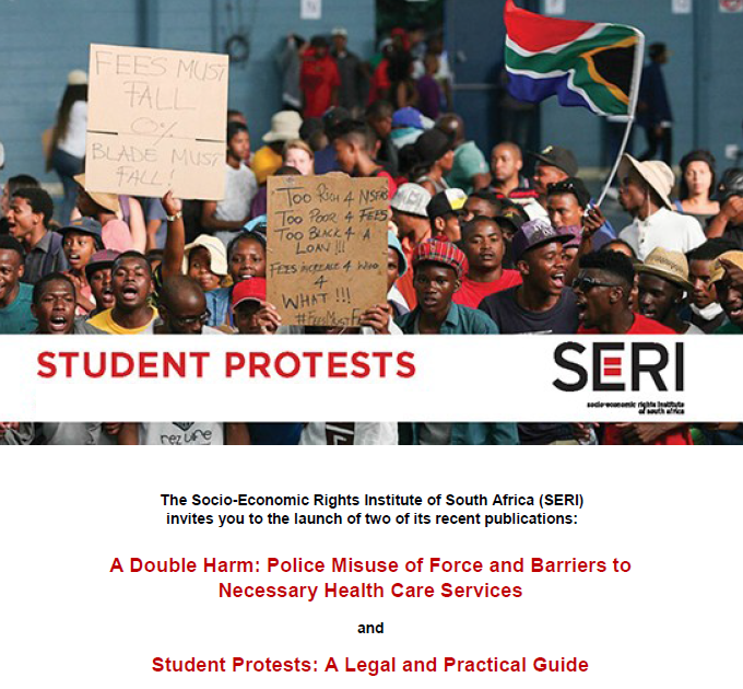 Student Protest Grabbed